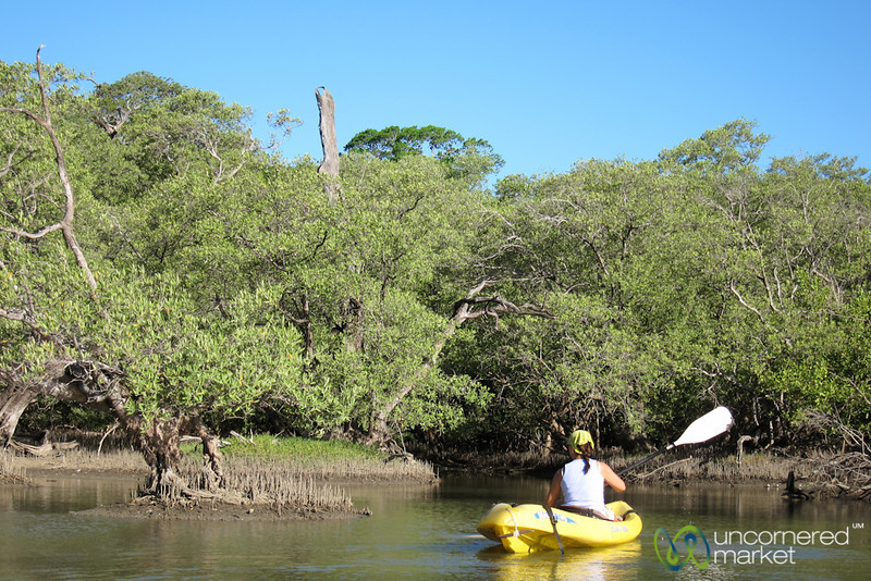 Kayaking at Morgan's Rock, Nicaragua