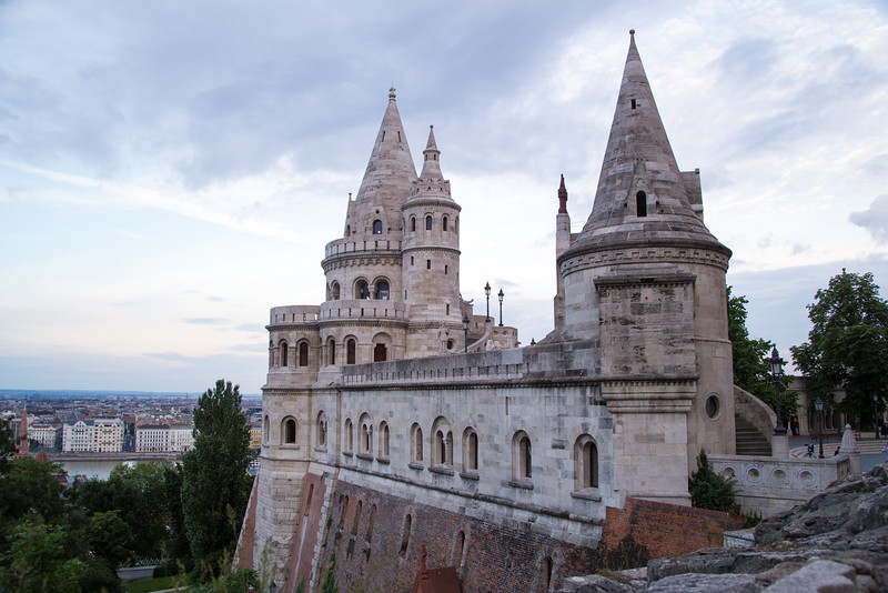 Fishermens Bastion from an unusual angle