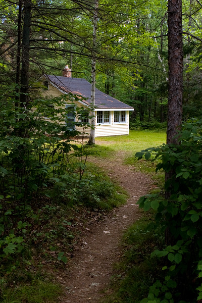 Path to Guest Cabin