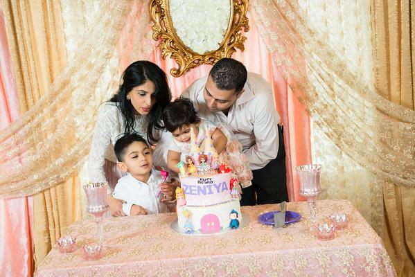Zeniya's 1st Birthday