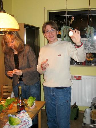 051217 Weihnachtsessen 2005