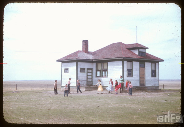 Rosefield school.  Rosefield.  04/30/1957