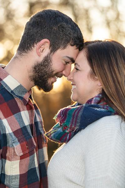 Tristen & Jason | Engagement Session in Buena Vista, VA