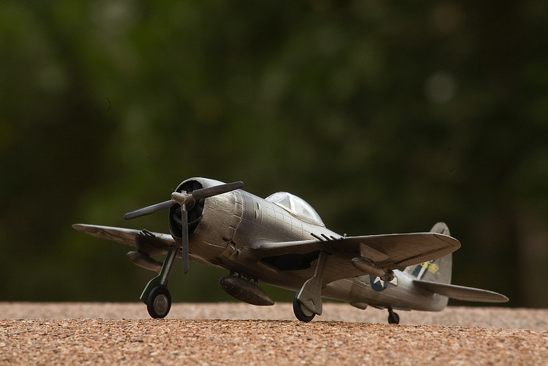 1/72 scale P-47D Thunberbolt