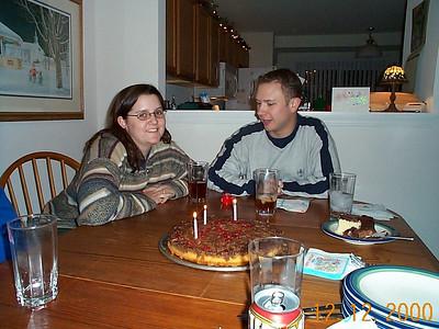 Lisa's Birthday - December 12, 2000