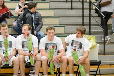 Tigard High School Boys Varsity Basketball vs Oregon City