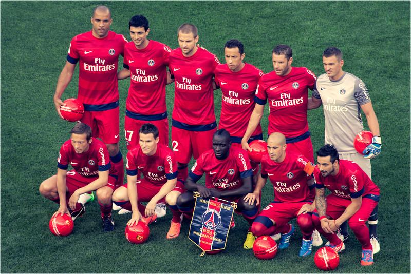 PSG team picture