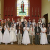 Boys & Girls from St Marys School Barr and St Johns Glenn who received their First Holy Communion last Saturday.06W19N66