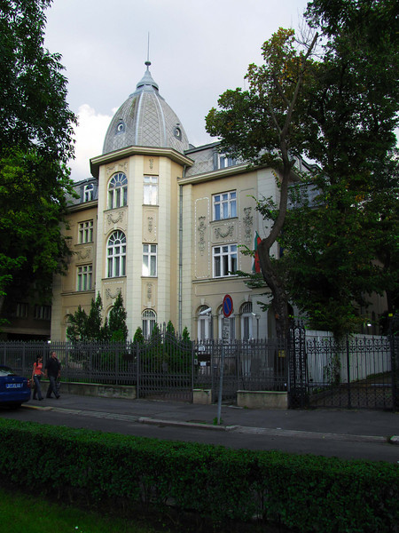 71-Bulgarian Embassy, one building away from the hotel (which is to the right).