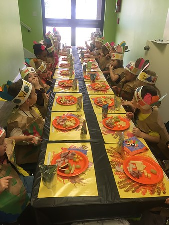 Lil' Cats Thanksgiving Feast 2017