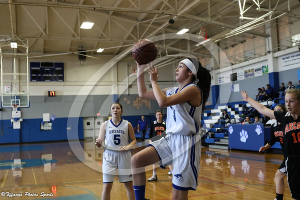 FUHS Girls Frosh Basketball vs Arcata @ Home 1-29-19