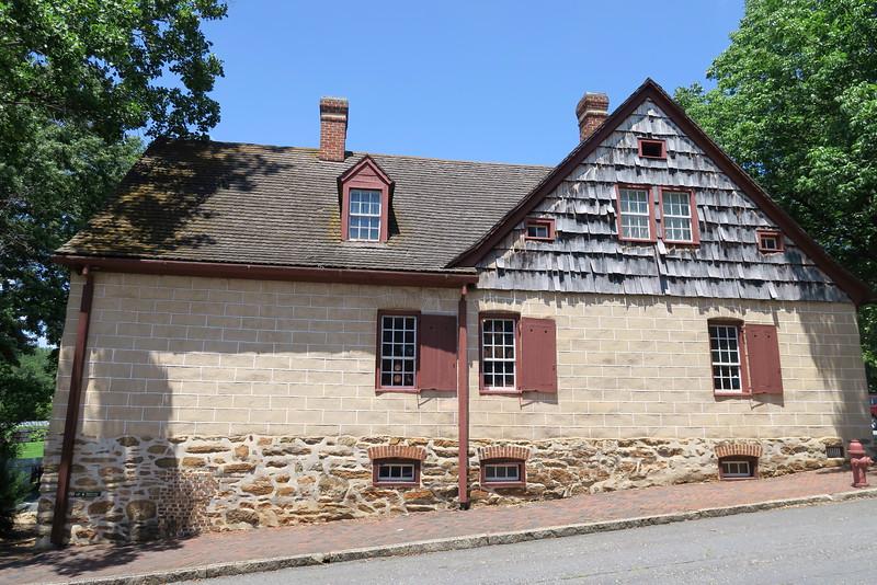 Salem Community Store (ca. 1775) -- Side View