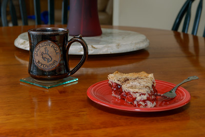 Valentine Pie and Black Silk Coffee, 7018 HPC (February 2014)