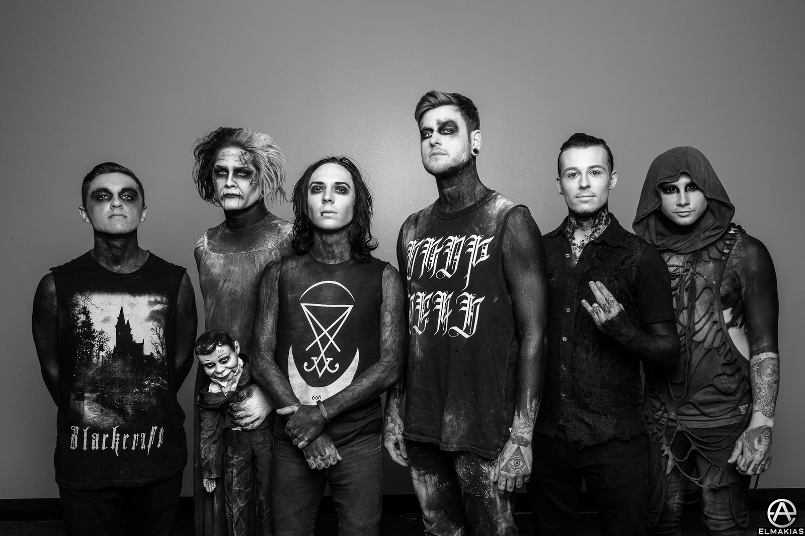 Motionless in White with Neil - The Parks And Devastation Tour by Adam Elmakias