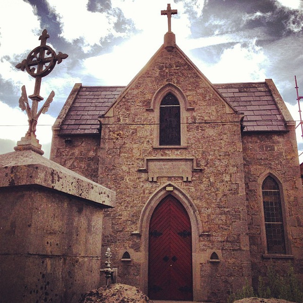 Morning sky break, Church of the Nativity, Donore Meath County #dna2ireland #ireland