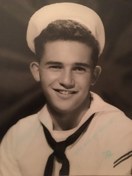 Phil Kraus, father to Shannon Darby, Submarine Sonar Tech 2nd Class, U.S. Navy.