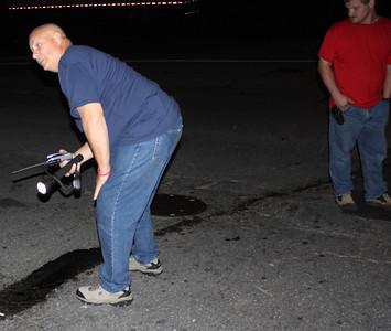 Gasoline Leak, Water Street, Coaldale (9-24-2011)