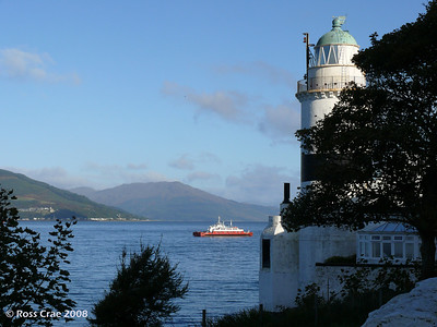 QE2's Last Visit to the Clyde