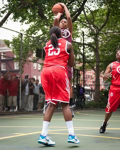 06 - Big East Ballers (Red) 89 v Westchester All Stars (Burgundy) 53