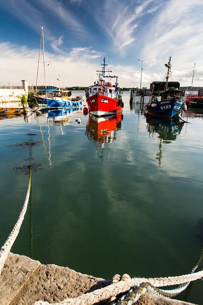 Fishing boats at Cobh