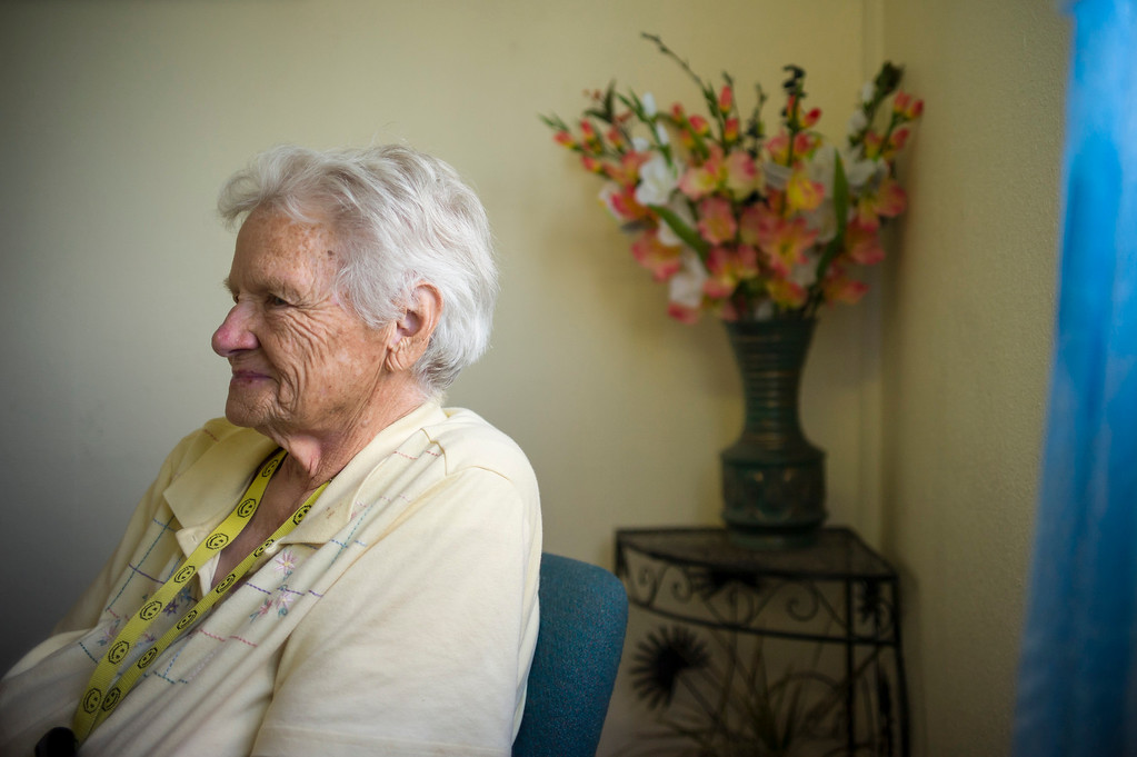 . Longtime Lovelock, Nevada resident Loa Long could care less that OJ Simpson was transferred to prison just outside of town.  The small town has been put on the map since Simpson was locked up at the Nevada Prison near town.  Long came to Lovelock as a child and has lived and worked in the town her entire life and believes the town should be known for more than OJ Simpson.   (Photo by David Crane/Los Angeles Daily News.)
