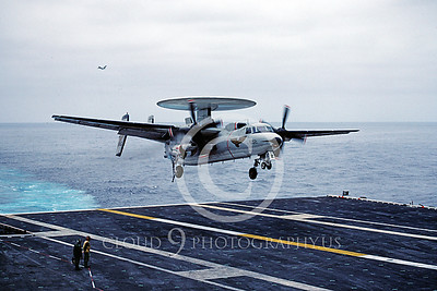 US Navy Grumman E-2 Hawkeye Airplane Aircraft Carrier Scene Pictures