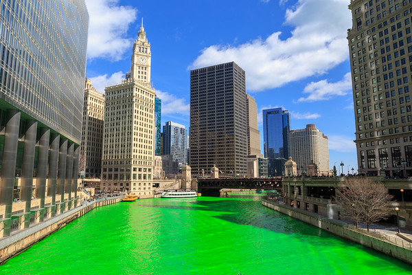 Chicago, St. Patrick's Day