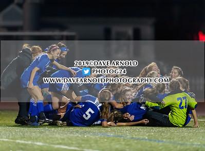 11/19/2019 - Girls Varsity Soccer - D3 State Semi-final - Dover-Sherborn vs Stoneham