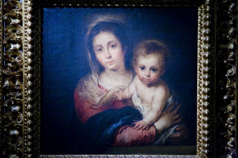 Virgen de la Servilleta (Virgin of the Serviette), painting by Murillo (1664), Fine Arts Museum, Seville, Spain