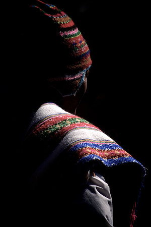 Indigenous Quechua Man in Traditional Attire - Cuzco, Peru