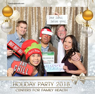 Centers for Family Health Holiday Party 2018