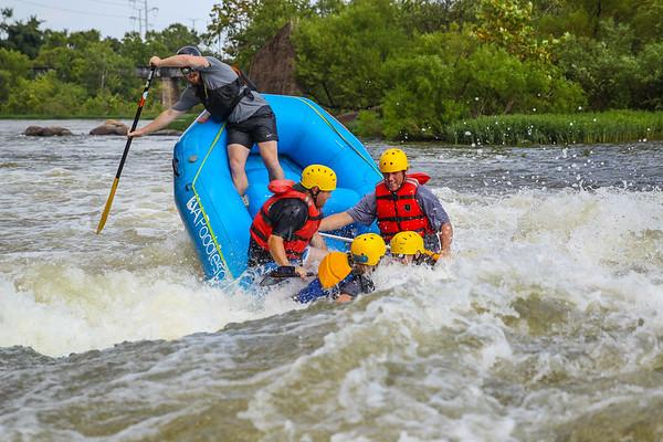RVA Paddlesports 8-6-16 Afternoon Trip