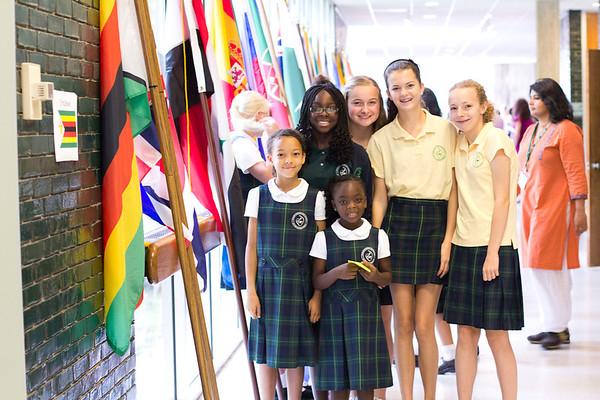 Flag Ceremony 2013