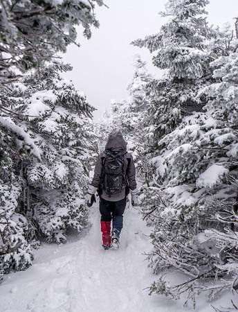 Vermont Winter Hiking - January 2019