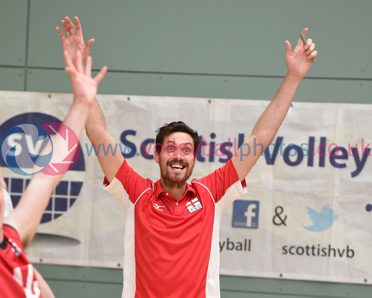 International Volleyball Scotland v England