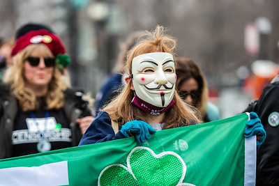 #Clovers4Assange/#FuckCensorship, Washington, DC, March 17