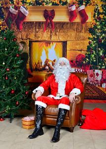 Santa Candid Shots