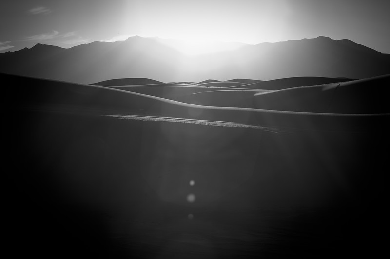 'Dune Flares' - White Sands National Monument, New Mexico, USA