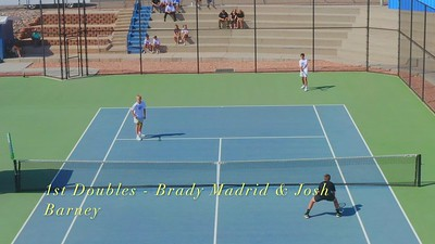 2021-04-13 Dixie HS Tennis - 1st & 2nd Doubles Videos