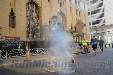 26 Mile Mark - 2015 Detroit Marathon