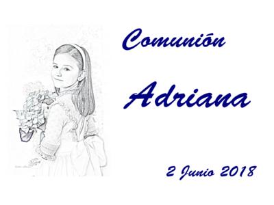 Comunion Adriana