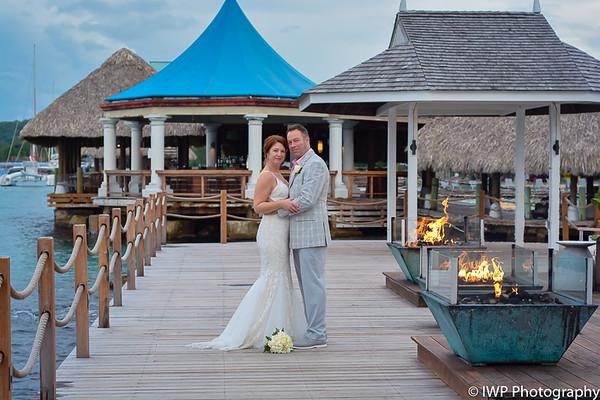 Kimberlee & Ryan's Sandals Wedding