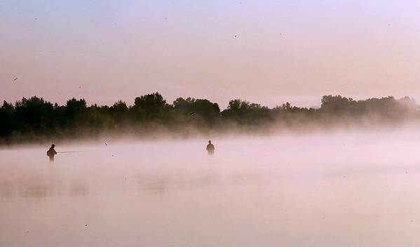 Bivouac en Loire - Pecheurs
