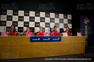 Fed Cup - World Group Play-Off - Press conference of Romania