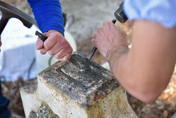 Edith May duBignon Stiles Monument Restoration 02-12-16
