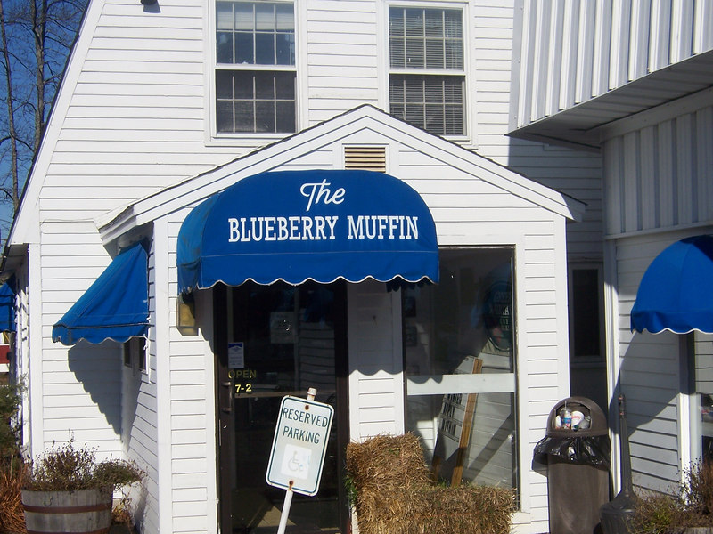 The Blueberry Muffin.  How can you not have breakfast at a place with such a delicious name?