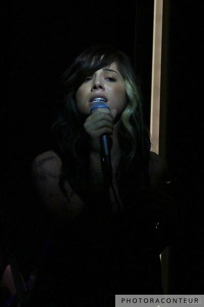 Christina Perri in Las Vegas, July 2011  (Photo by Benjamin Padgett)