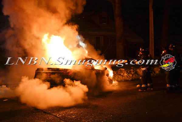 Wantagh F.D. Car Fire Cornelius Avenue & Wilson  Avenue 2-15-14