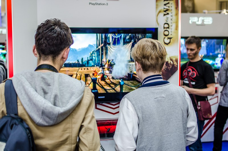Gamers at Igromir 2012