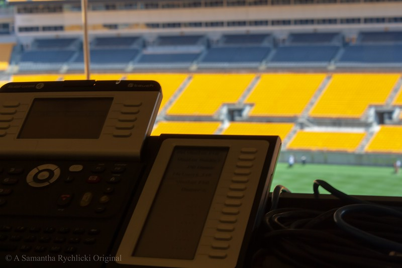 The View from the Press Box at Heinz Field